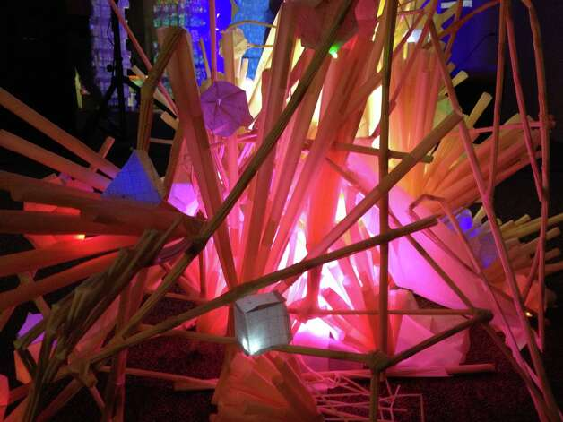 Santa Fe-based collective Meow Wolf, which is taking part in Luminaria, creates immersive installations.
