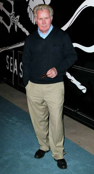Actor Martin Sheen attends the launch of