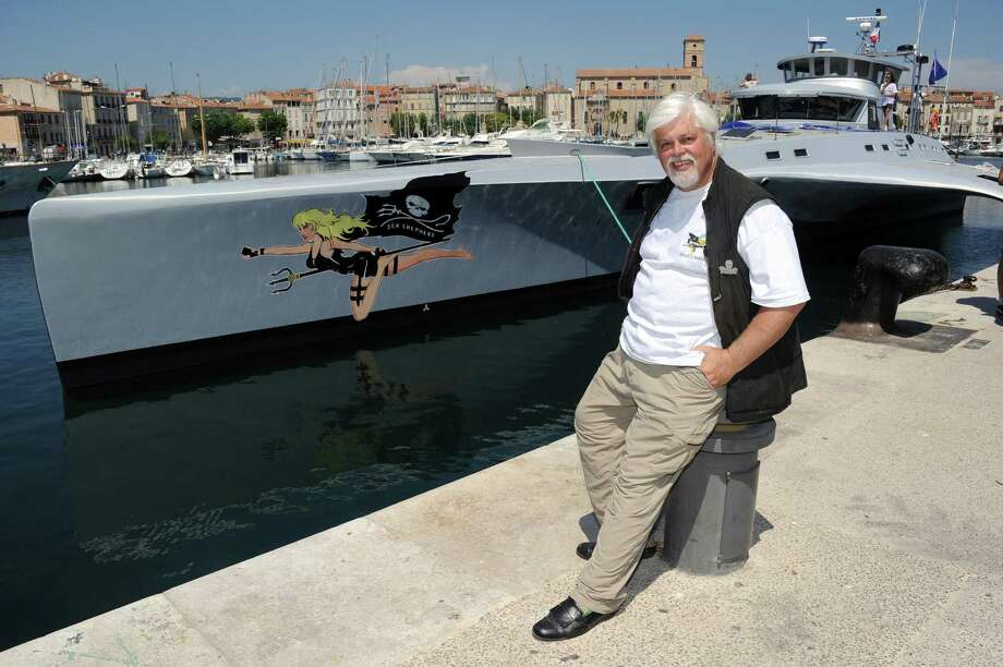 Paul Watson, Canadian founder and president of the Sea Shepherd Conservation Society, a direct action group devoted to marine conservation poses, on May 25, 2011 in La Ciotat, south eastern France, after inaugurating the group's new multihull named after French screen legend and animal rights activist Brigitte Bardot. Photo: GERARD JULIEN, Getty Images / 2011 AFP