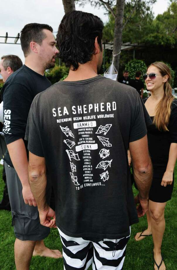 General view of the atmosphere at the Sea Shepherd lunch sponsored by producers Mohammed Al Turki and Hamza Talhouni honoring Michelle Rodriguez and Paul Watson held at a private residence on May 19, 2011 in Antibes, France. Photo: Ian Gavan, Getty Images / 2011 Getty Images
