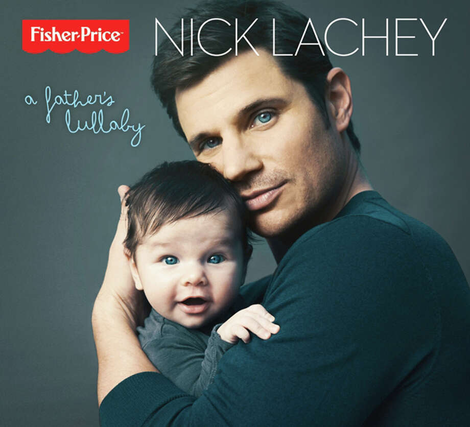 "This publicity photo provided by Fisher-Price shows multi-platinum recording artist and new father, Nick Lachey's album cover for ""A Father's Lullaby."" Lachey's first-ever lullaby album inspired by his son, Camden, releases in March in partnership with Fisher-Price, Inc., a subsidiary of Mattel, and Mood Entertainment. Lachey and wife, Vanessa, welcomed their son in Sept. 2012. (AP Photo/Fisher-Price, Austin Hargrave) Photo: Austin Hargrave"