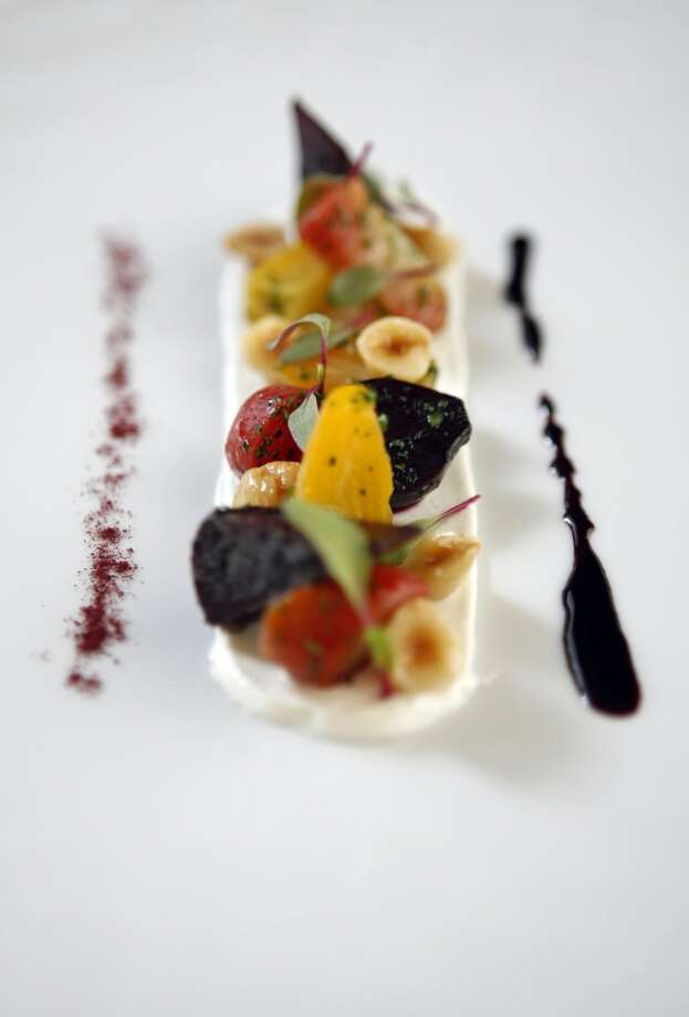 2009: Gregory Short's roasted beet salad, a dish from the vegetable menu at Masa's.