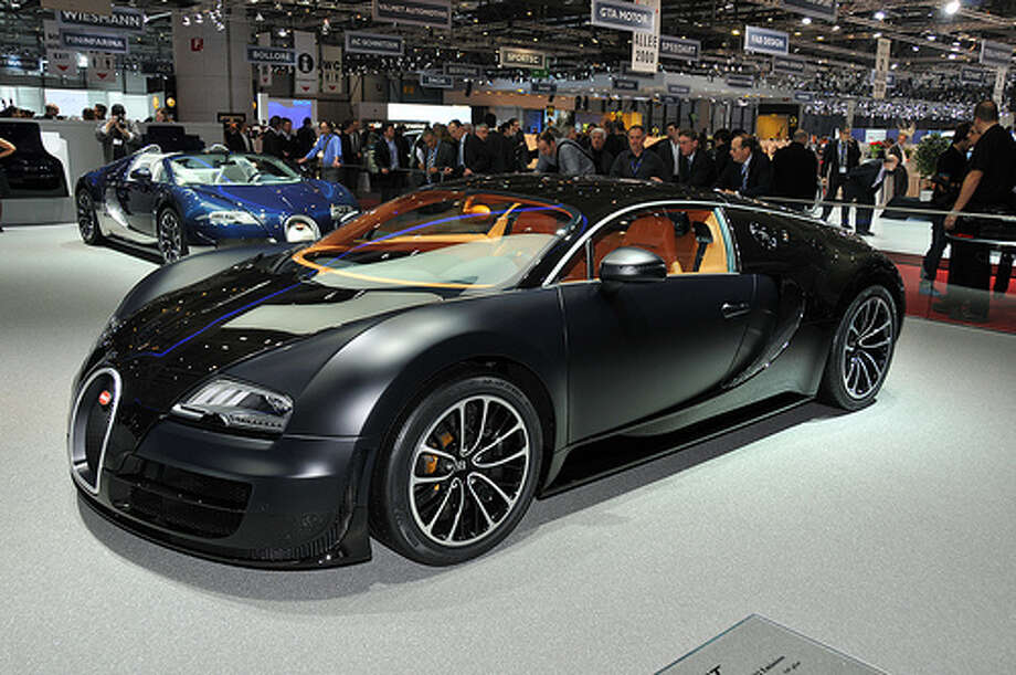 47. Bugatti Veyron (2005–2011) What Popular Mechanics said: It took nearly 15 years for a car to wrest the ultimate road-going performance title from the McLaren F1, so when the Veyron did it, the whole world took notice. In SS trim, the Veyron hits an absurd top speed of nearly 268 mph. (Photo: Autoviva.com, Flickr)Source: Popular Mechanics Photo: Flickr