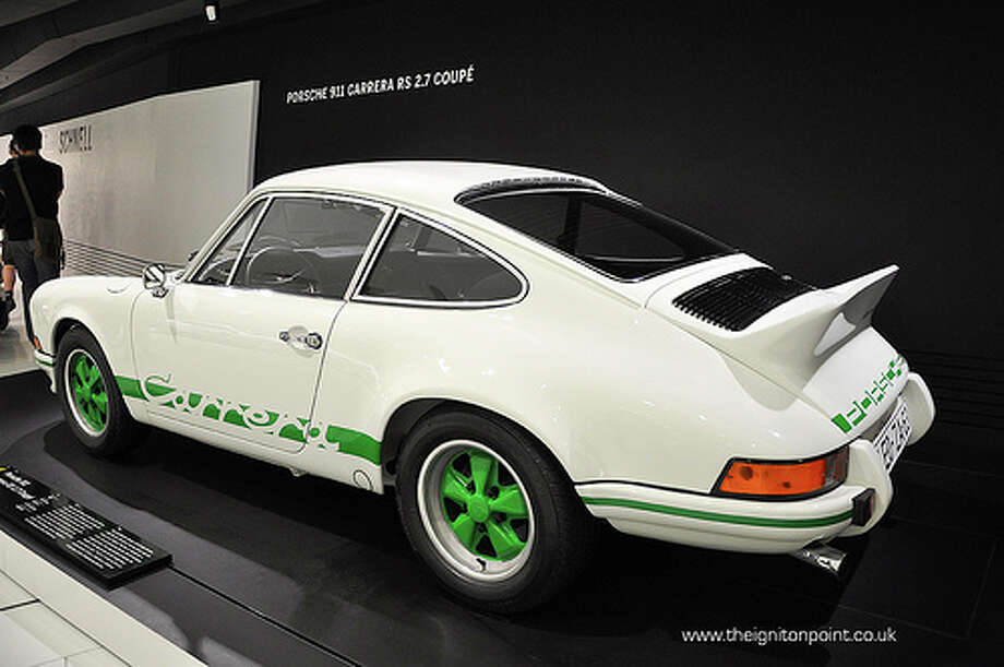 26. Porsche Carrera 2.7 RS (1973) What Popular Mechanics said: With its 210-hp engine and telepathic steering, the '73 RS sums up everything that is wonderful about the 911 design. (Photo: Theignitionpoint.co.uk, Flickr)Source: Popular Mechanics Photo: Flickr