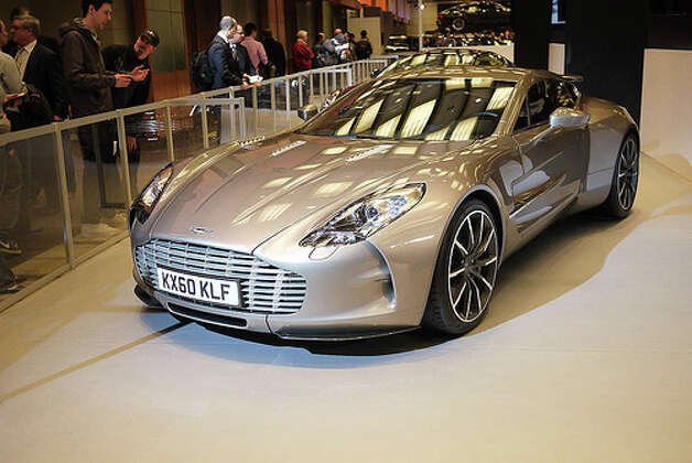 25. Aston Martin One-77 (2009–Present) 