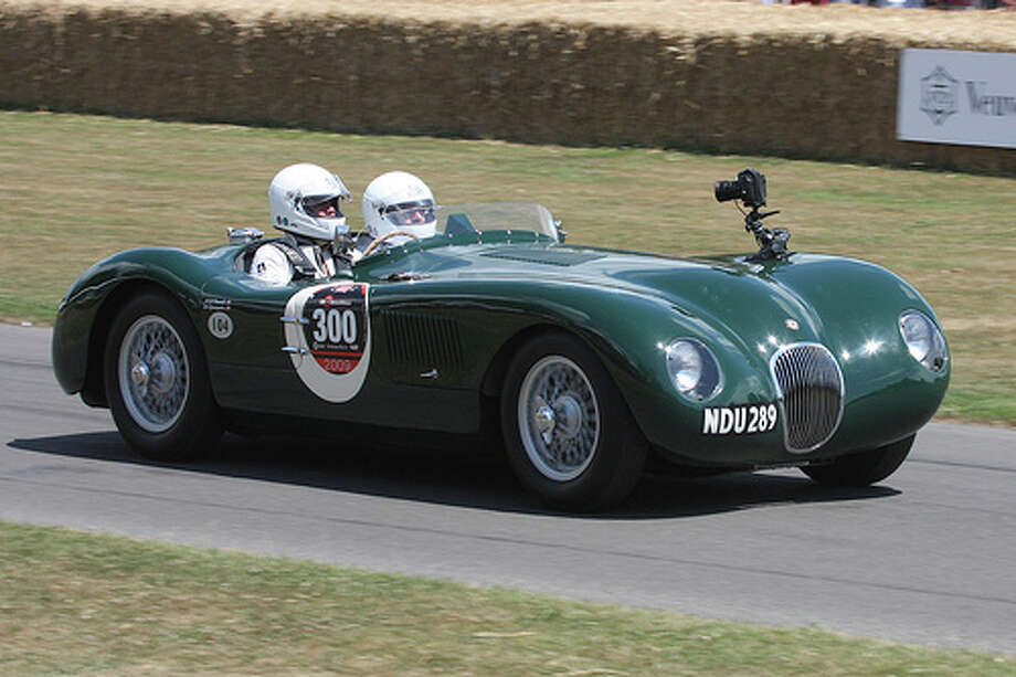 23. Jaguar C-Type (1951–1953) What Popular Mechanics said: The C-Type was a lightweight, soulful, race-ready sports car. It used the drivetrain from the XK120 retuned for greater power. (Photo: Exfordy, Flickr)Source: Popular Mechanics Photo: Flickr