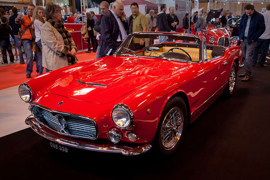 21. Maserati 3500 GT (1957–1964) What Popular Mechanics said: The 3500 offered classic lines and a gutsy six-cylinder engine. It was Maserati's breakthrough into the production GT world. (Photo: , Flickr)&p>Source: Popular Mechanics Photo: Flickr