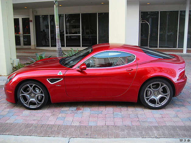 13. Alfa Romeo 8C Competizione (2007–2009) 