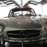 "10. Mercedes-Benz 300SL ""Gullwing"" (1955–1957) 