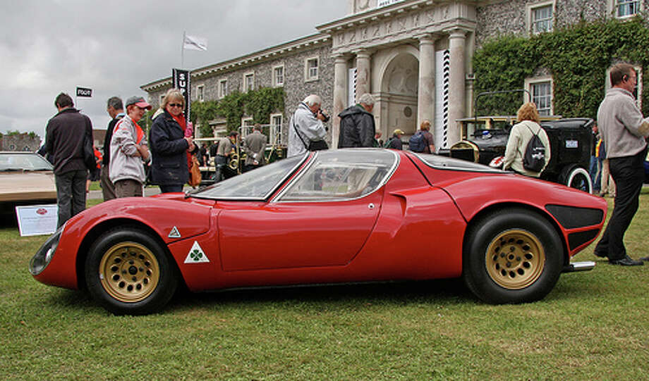 2. Alfa Romeo 33 Stradale (1967–1971) 