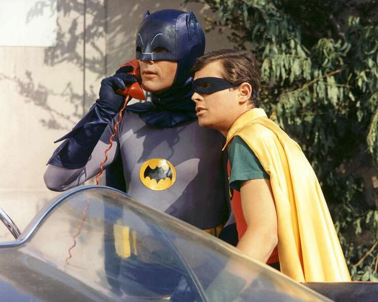 ''Batman'' which aired from 1966 to 1968, featured a lot of time with the red ''bat phone.''