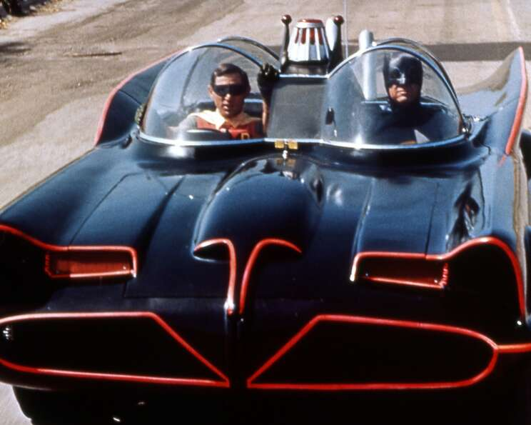 The Batmobile.