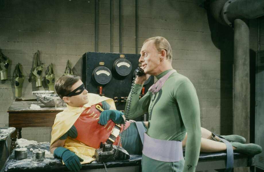 Robin with the Riddler, 1966.
