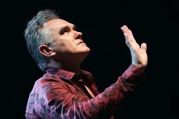 Morrissey failed to turn Los Angeles' Staples Center into a vegetarian venue during his Friday night concert – the center continued to sell meat products despite the singer's assurance that hamburgers and hot dogs would not be sold. The center did make the backstage area 100 percent vegetarian, however. And, fans at a high school concert in Hollywood on Saturday were treated to a lovely video of cows and chickens being slaughtered and an explanation of how caught fish die. They got what they paid for, we suppose.
