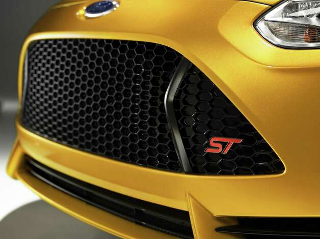 The 2013 Ford Focus ST is available in a paint color called Tangerine Scream.