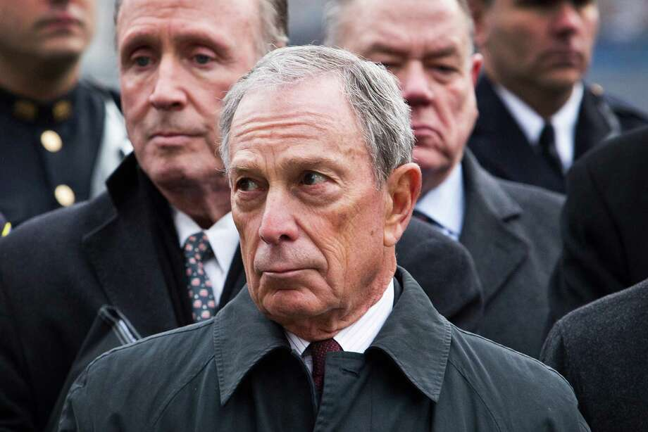 NEW YORK, NY - FEBRUARY 26: New York City Mayor Michael Bloomberg attends the 20th Anniversary Ceremony for the 1993 World Trade Center bombing at Ground Zero on February 26, 2013 in New York City. The attack, which utilized a car bomb and hit the north tower, killed six people. Photo: Andrew Burton, Getty Images / 2013 Getty Images