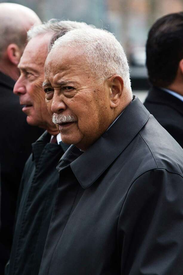 NEW YORK, NY - FEBRUARY 26:  Former New York City Mayor David Dinkins attends the 20th Anniversary Ceremony for the 1993 World Trade Center bombing at Ground Zero on February 26, 2013 in New York City. The attack, which utilized a car bomb and hit the north tower, killed six people. Photo: Andrew Burton, Getty Images / 2013 Getty Images