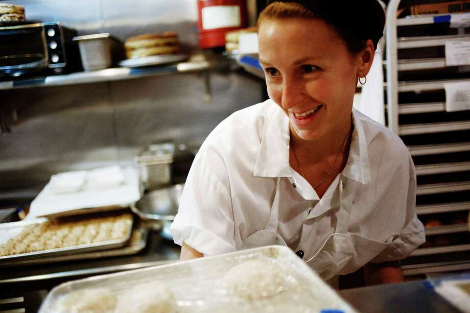 Christina Tosi of New York's Momofuku Milk Bar will be demonstrating recipes from the Momofuku Milk Bar cookbook March 1 at Central Market. Photo: Gabriele Stabile