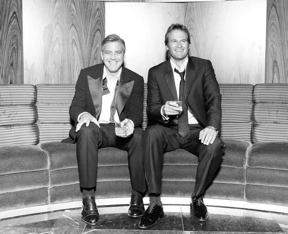 Casamigos Tequila founders George Clooney and Rande Gerber. Photo: Casamigos Tequila