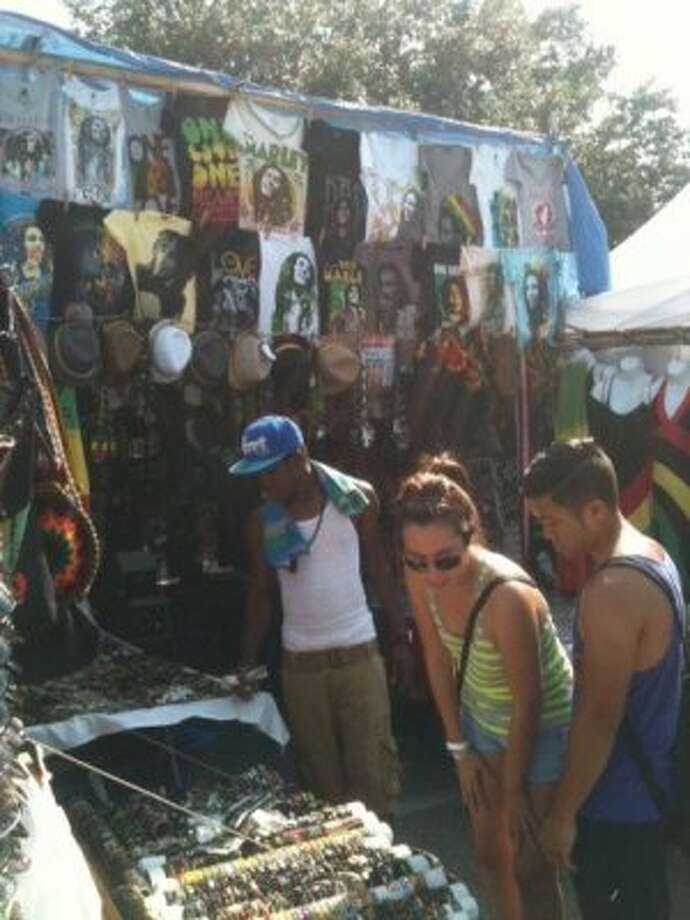 You can get your favorite Bob Marley fan a present. (Photo by Frankie Ortega) Photo: Houston Chronicle
