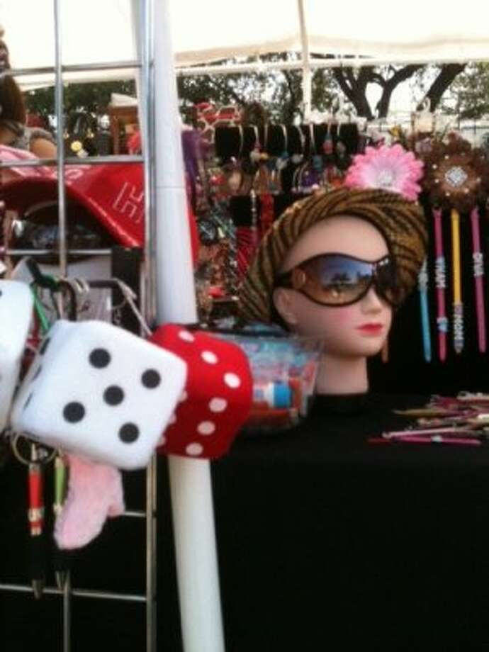 You can get fuzzy dice. (Photo by Frankie Ortega) Photo: Houston Chronicle