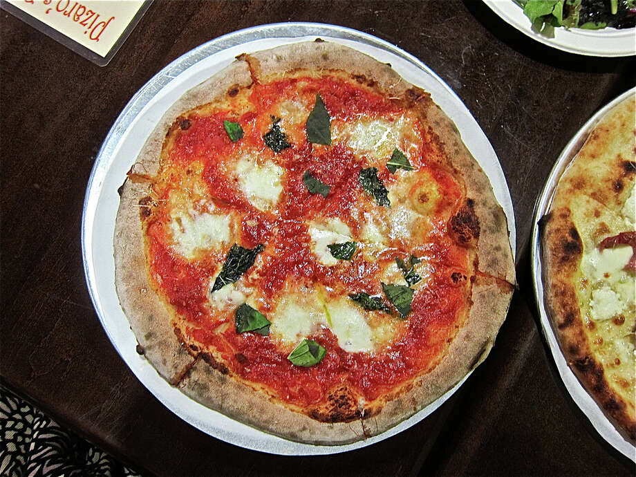 A Pizza Margherita at Pizaro's Pizza. Photo: Alison Cook, HC Staff / Houston Chronicle