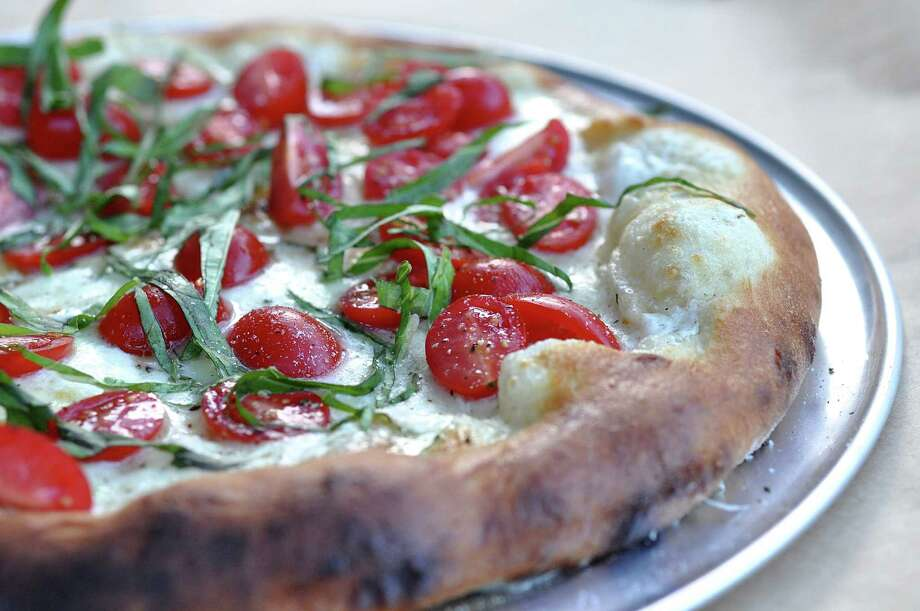 Margherita pizza by Ara Malekian of Volare Original Pizzeria, opening this spring. Photo: Kimberly Park