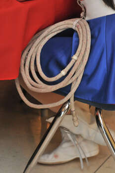 The traditional lasso and boots for the Thomas Jefferson High School Lasso's, who have been a tradition at the school for over 80 years. Photo: Robin Jerstad