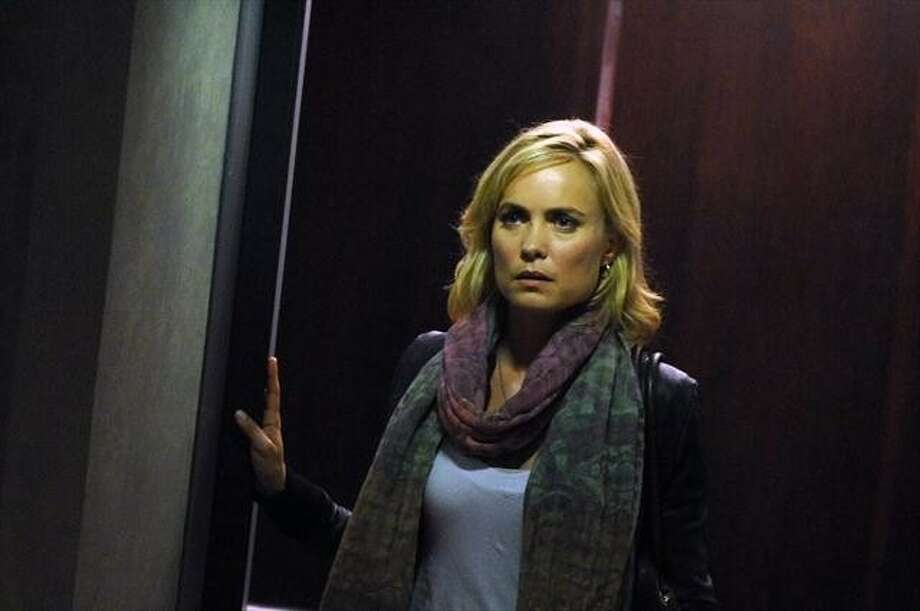 "RADHA MITCHELL is the title character in ""Red Widow. Photo: SERGEI BACHLAKO, ABC"