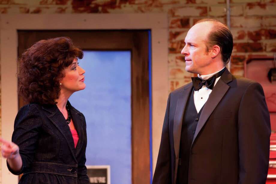 The First Church of Texaco by Andrew William Librizzi - Christy Watkins as Alice Mann, Craig Griffin as Stanton Presley  credit Bara Photography Photo: Bara Photography / handout