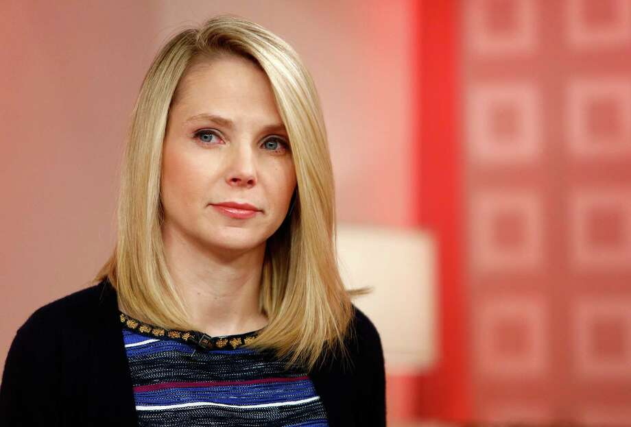 "This image released by NBC shows Yahoo CEO Marissa Mayer appearing on NBC News' ""Today"" show, Wednesday, Feb. 20, 2013 in New York to introduce the website's redesign. Yahoo is renovating the main entry into its website in an effort to get people to visit more frequently and linger for longer periods of time. The long-awaited makeover of Yahoo.com's home page is the most notable change to the website since the Internet company hired Marissa Mayer as its CEO seven months ago. The new look will start to gradually roll out in the U.S early Wednesday. (AP Photo/NBC Peter Kramer/NBC/NBC NewsWire) Photo: Peter Kramer, HOEP / NBC"