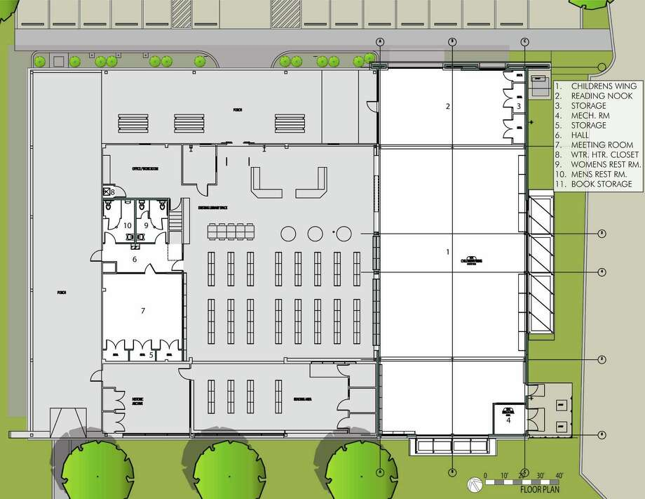 Superieur The Leon Valley Library Expansion Will Include A Childrenu0027s Wing, Shown At  Right. The