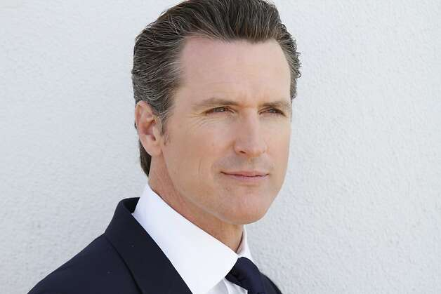 Gavin Newsom Photo: Current TV, The Gavin Newsom Show