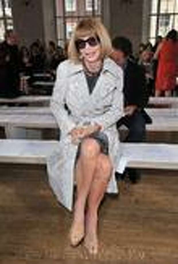 Anna Wintour at Nicole Farhi (Photo Getty Images)