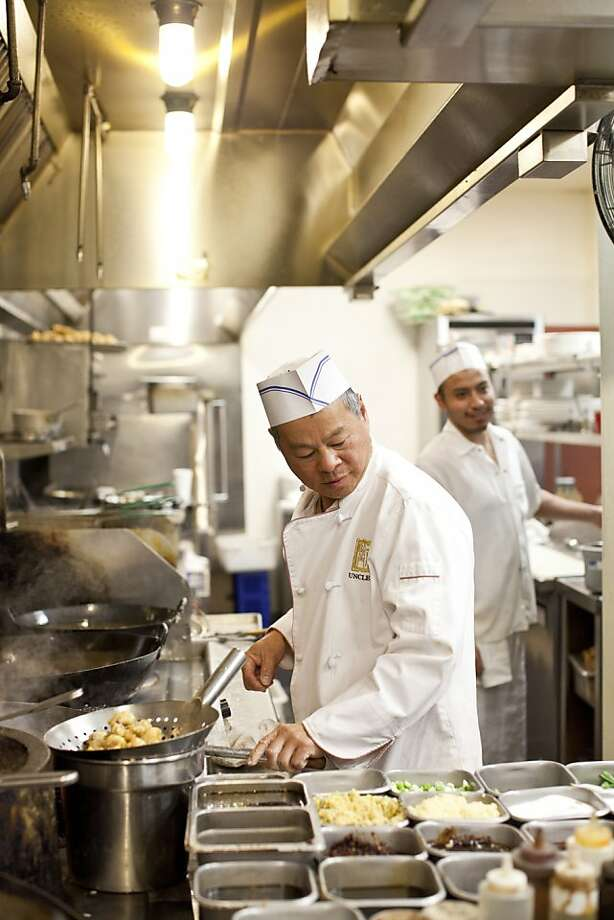 Uncle Yu's head chef John Phung. Photo: Jason Henry, Special To The Chronicle