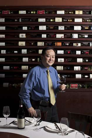 Partner and wine director Nick Liang of Uncle Yu's at the Vineyard offers multicourse chef and sommelier tasting menus at the Livermore restaurant. Photo: Jason Henry, Special To The Chronicle