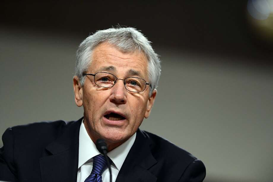 Republican Chuck Hagel faced more opposition from his own party than from the Democrats. Photo: Saul Loeb, AFP/Getty Images
