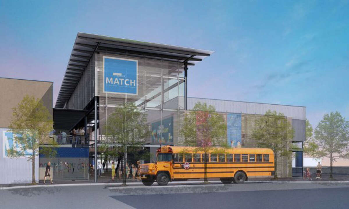 A rendering of the proposed Midtown Arts Theater complex