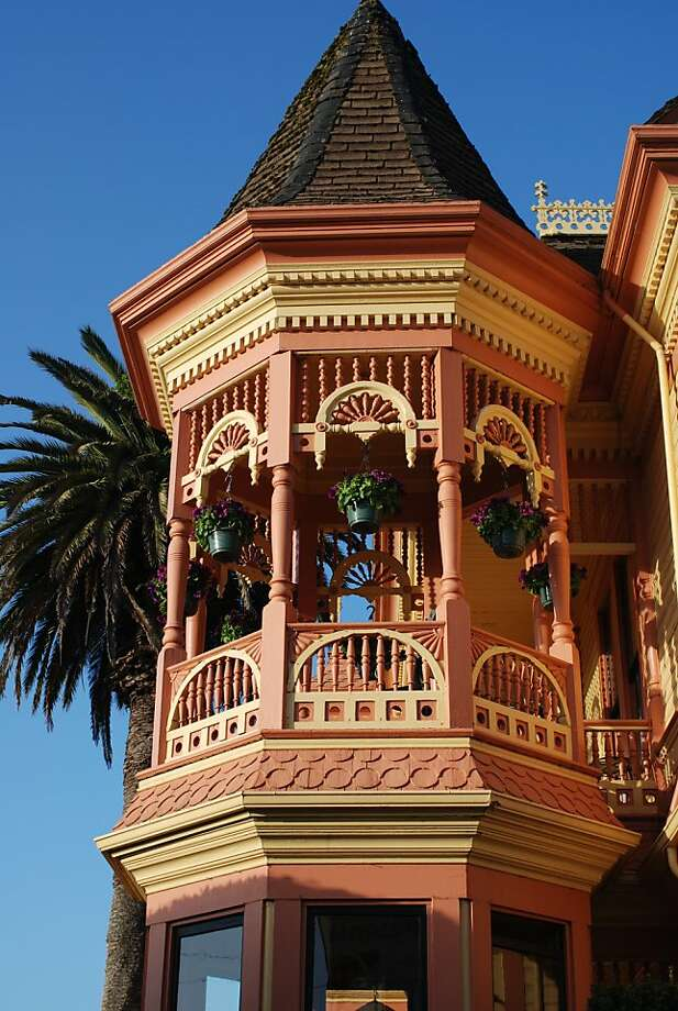 Gingerbread Mansion Inn, Ferndale, Humboldt County Photo: Richard Stenger, HCCVB 2007