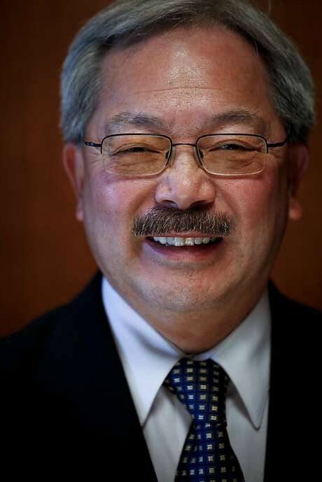 "Mayor Ed Lee, in several interviews, dismissed the idea that he was doing PG&E's bidding as ""a little off base."" ""I look at PG&E like any other company in the city,"" Lee said. ""I don't think I have any special relationship with them."" . Photo: Russell Yip, The Chronicle"