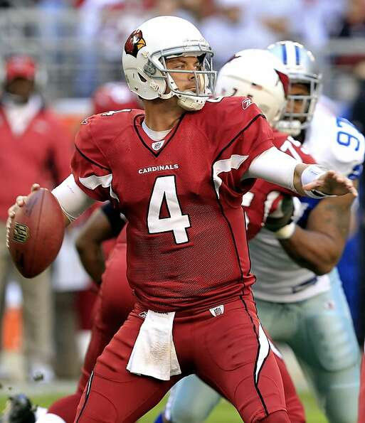 Quarterback Kevin Kolb, who has been a disappointment in Arizona, is due a $2 million roster bonus M