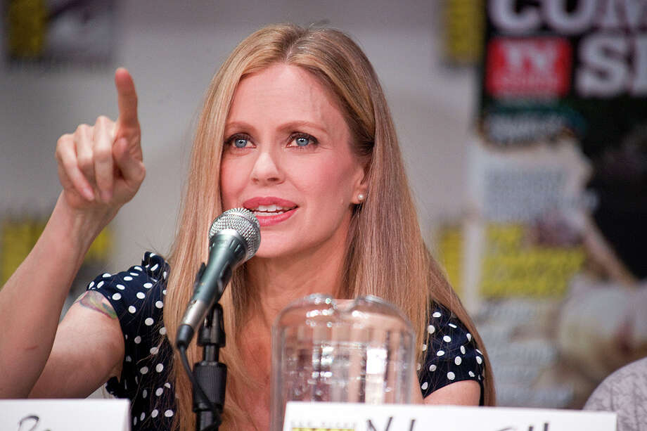 "Kristin Bauer van Straten - She's had roles in ""Romy and Michele's High School Reunion"" and ""50 First Dates,"" but you probably know her from playing Pam De Beaufort in the TV series ""True Blood."" Van Straten is appearing at Comicon on Saturday and Sunday. Photo: Wendy Redfern/Redferns/Getty Images"