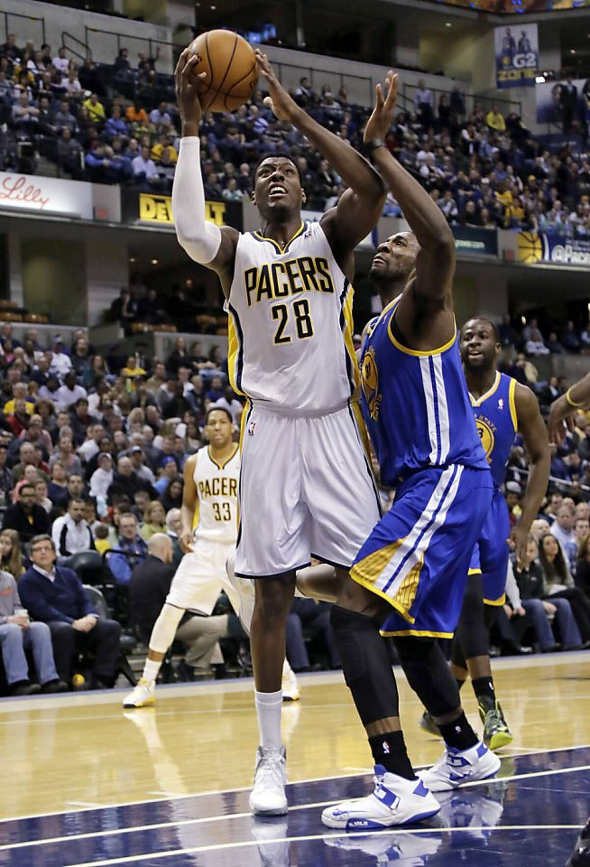 Warriors lose to Pacers, 108-97