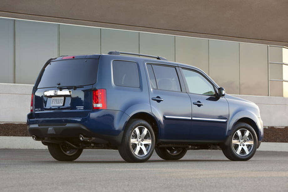 The Honda Pilot's ride is a predictable compromise between sedan-smooth and truck-rough.