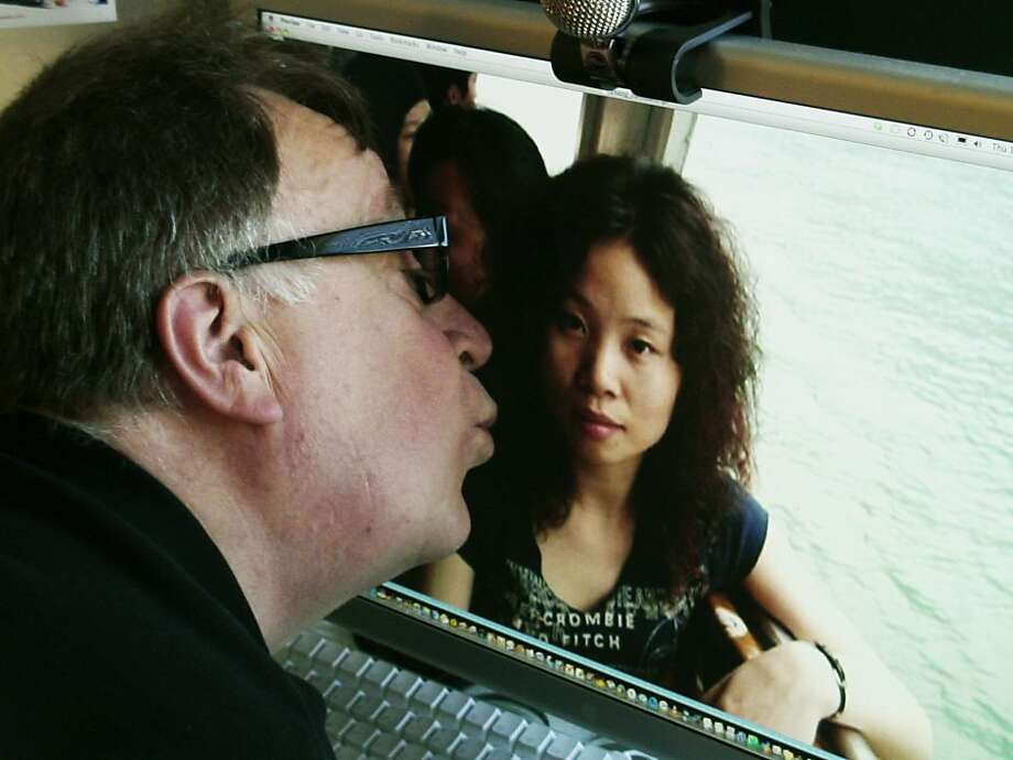 "Steve and Sandy in Debbie Lum's Bay Area documentary ""Seeking Asian Female"" (2013). Photo: Caam, CAAM"