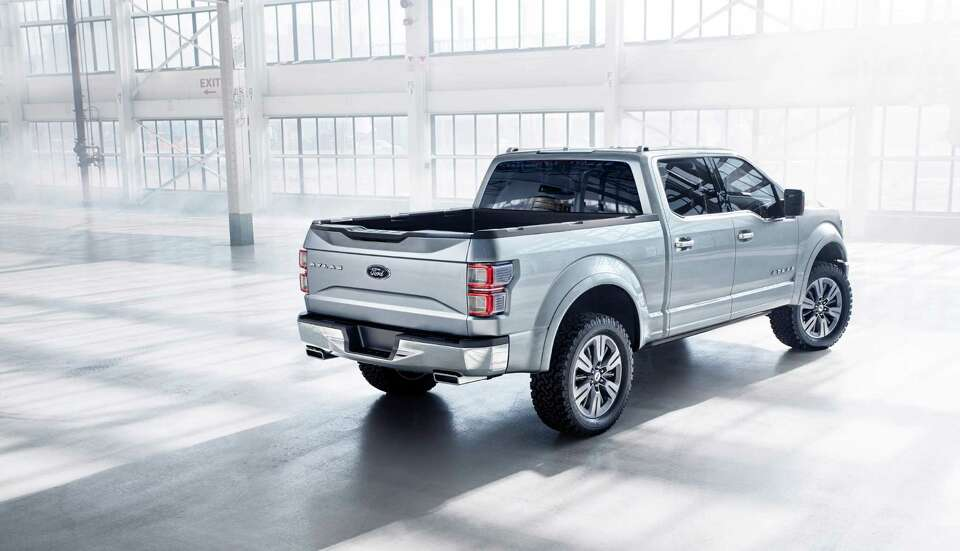 Ford unveiled its Atlas concept car earlier this year. The truck comes with a new ecoboost engine to