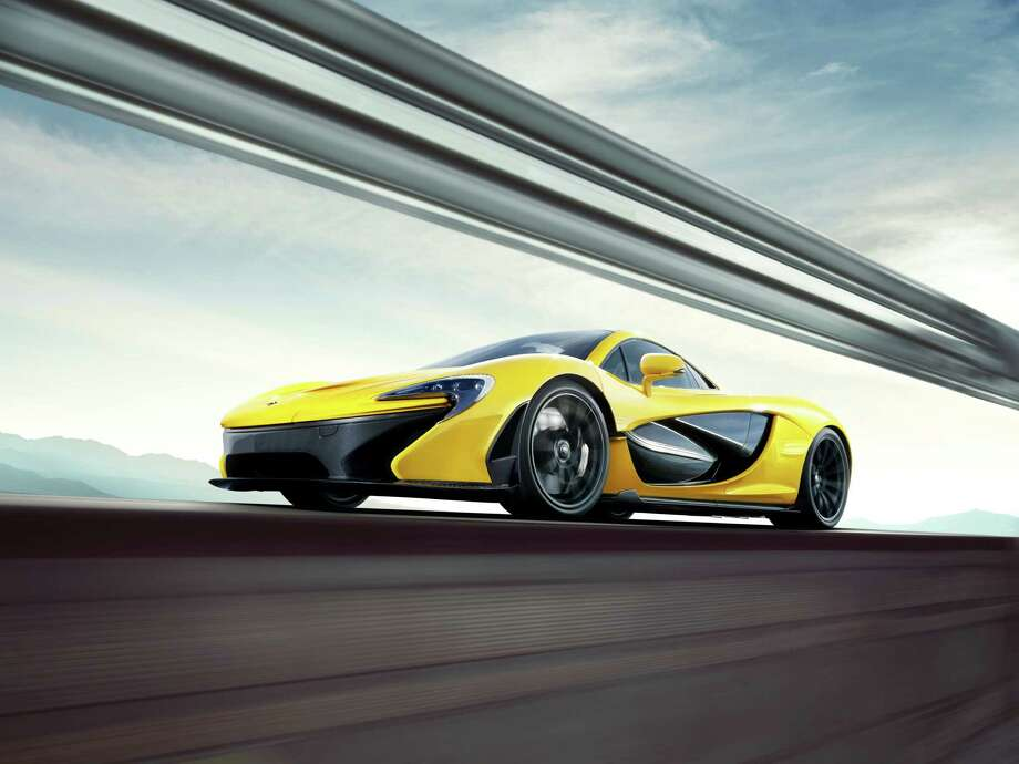 McLaren released its first images of its new supercar, the P1. The limited edition car can top out at 217 mph, and it can hit 180 mph in just 17 seconds. The car will cost $1.1 million, but you'll be one of 375 with the unique car. Photo: McLaren Automotive