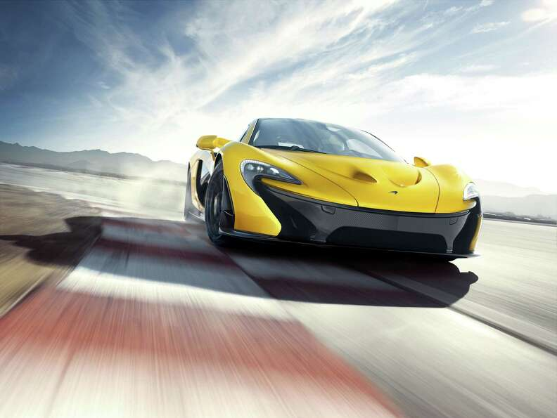 McLaren released its first images of its new supercar, the P1. The limited edition car can top ou