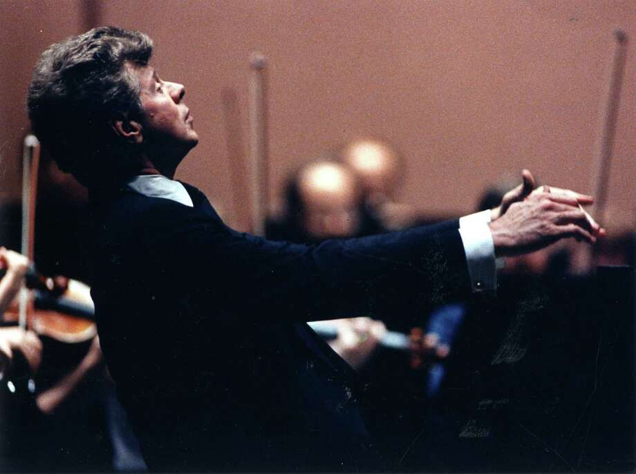 Pianist Van Cliburn caught the attention of the world when he won the Tshaikovsky Piano Competition in Moscow in 1958, the height of the cold world. When the Texas resident returned to the United States he was given a ticker-tape parade on Broadway in New York City, an honor usually reserved for winning sports teams. This photo was a publicity shot for a 1994 concert at the Cynthia Woods Mitchell Pavilion. Credit: Gail Folda/Lincoln Star Photo: Gail Folda, Lincoln Star / handout