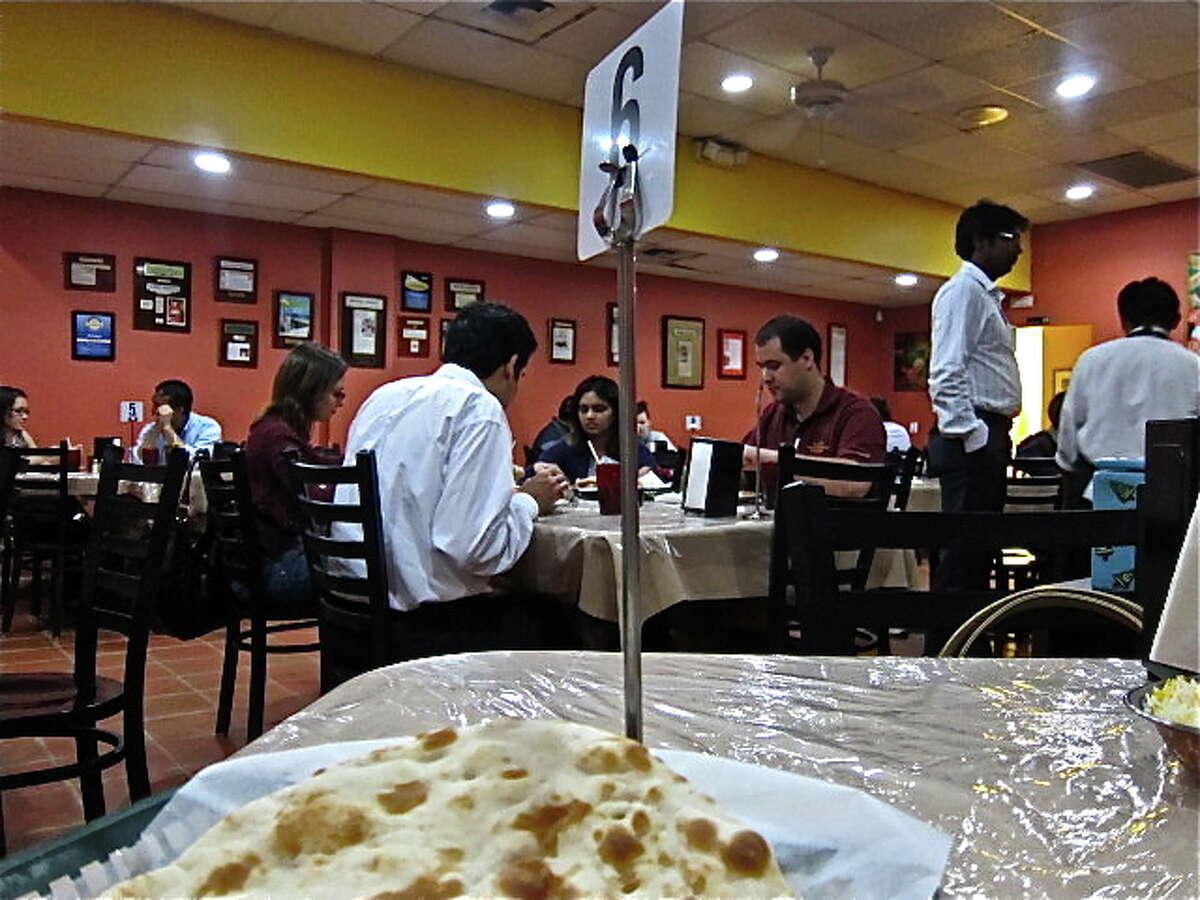 The dining room at Himalaya